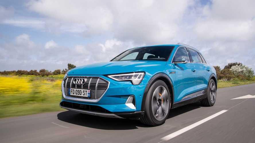 Audi e-tron, più autonomia con il nuovo powertrain
