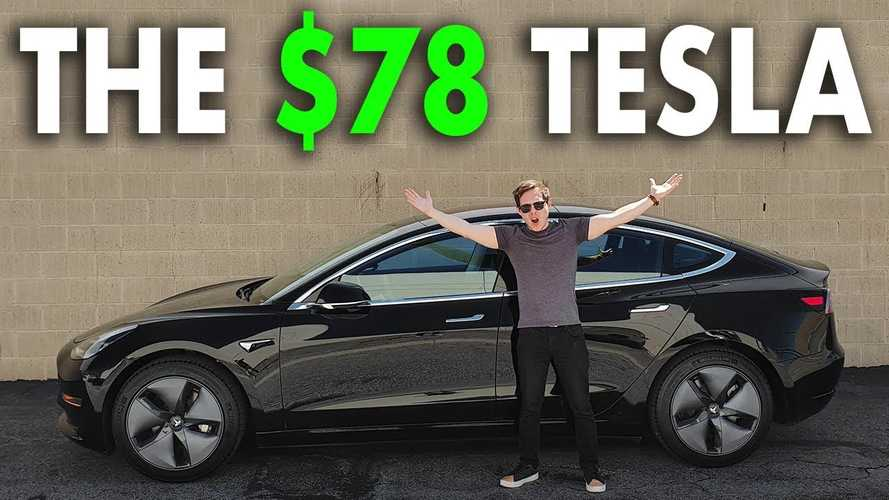 Tesla Model 3 Owner Pays Just $78 Per Month: Here's How