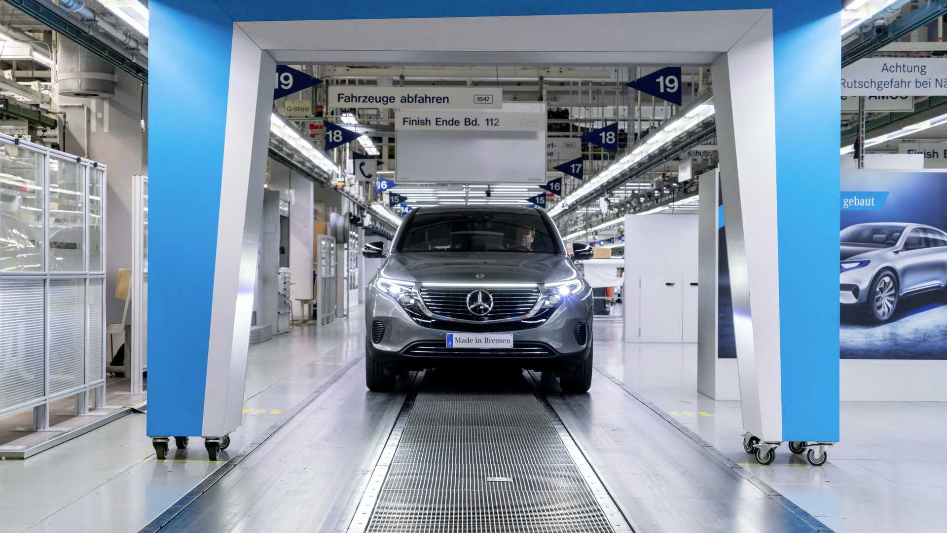 Mercedes-Benz To Produce 100 EQC Per Day: Double That In 2020