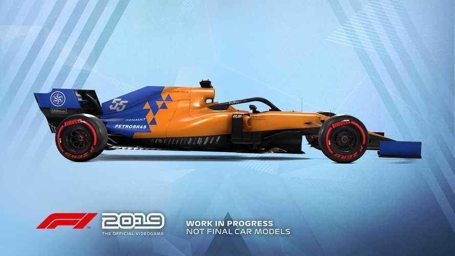 Sainz, protagonista de la portada del videojuego F1 2019