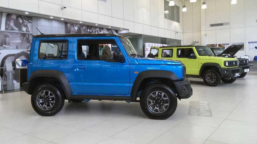 Suzuki в России: могут 2000, хотят 1500, а продадут 1200 новых Jimny