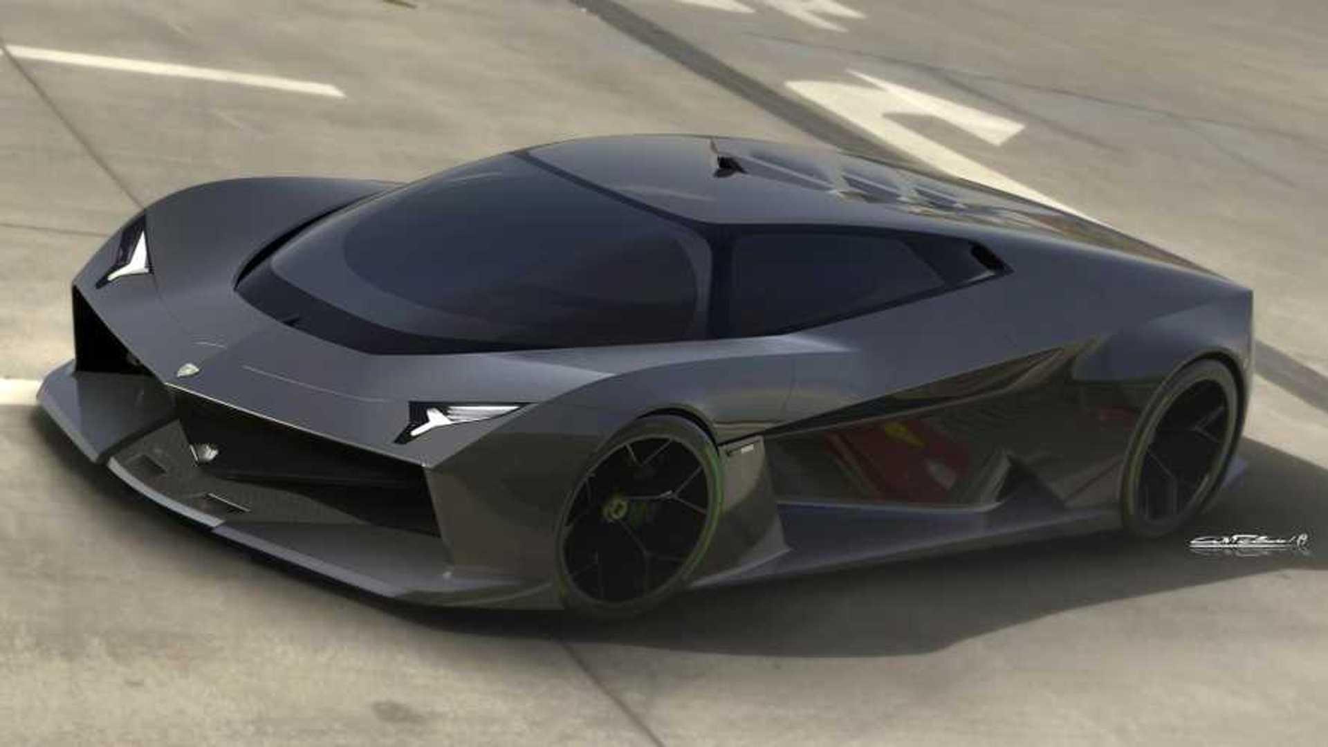 Rendering Of Future Lamborghini Concept Looks Bullishly Good