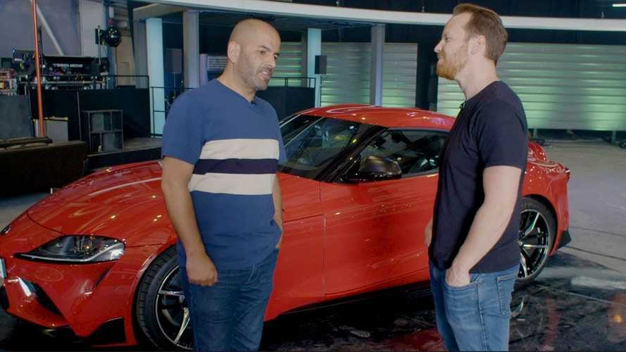 Watch Chris Harris Be Baffled By The Toyota Supra