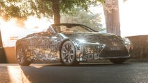 Lexus LC Convertible Prototype