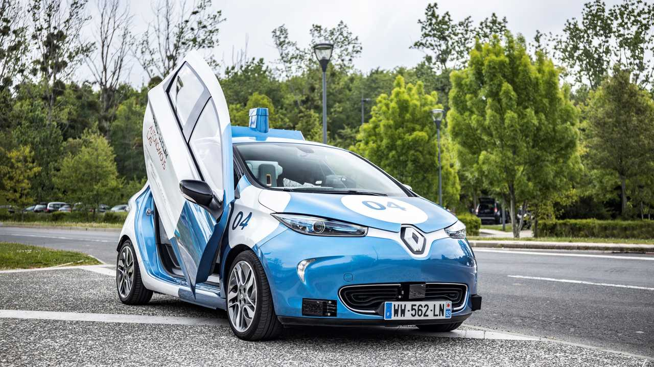 Renault ZOE - Laboratoire autonome Paris-Saclay