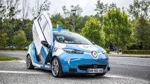 Renault ZOE Cab - Paris-Saclay Autonomous Lab