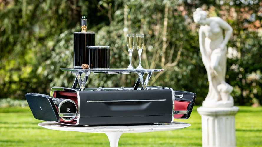 Eat The Rich? Rolls-Royce Debuts Champagne Chest