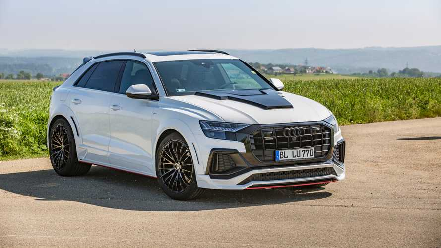 Lumma Design Modifiyeli Audi Q8