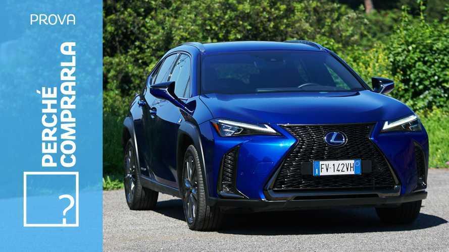 Lexus UX, perché comprarla… e perché no