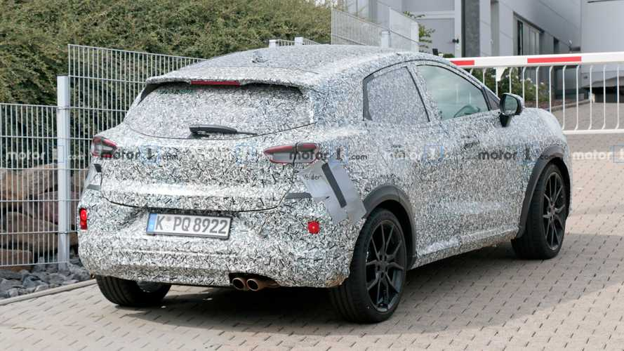 Ford Puma ST 2020, fotos espía