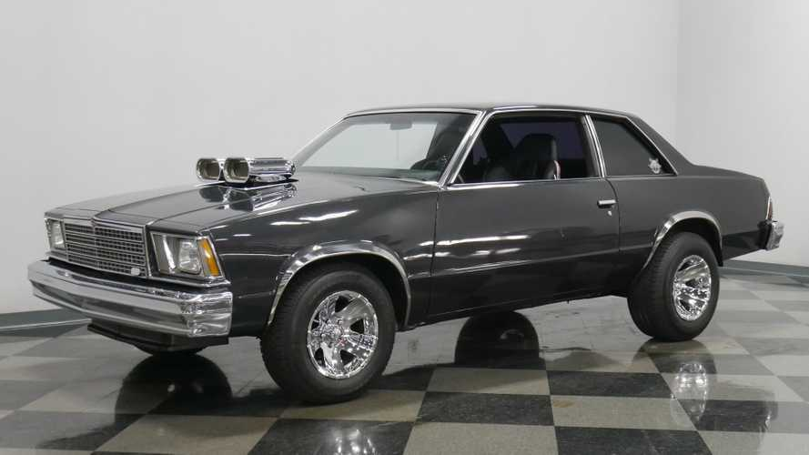 1978 Chevrolet Malibu Is A Fully Decked-Out Metallic Beauty