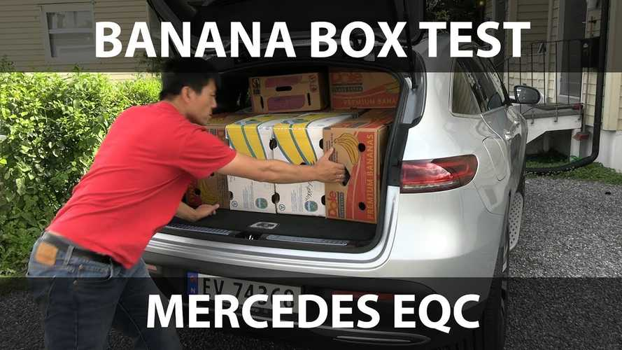 Mercedes-Benz EQC Comes In Behind Nissan LEAF In Banana Box Test