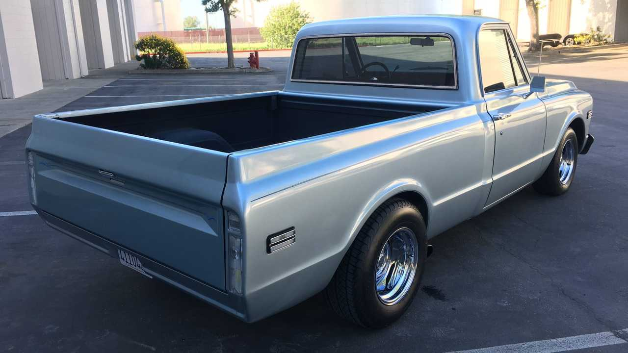 1969 GMC C10 Packs The Heart Of A Muscle Car