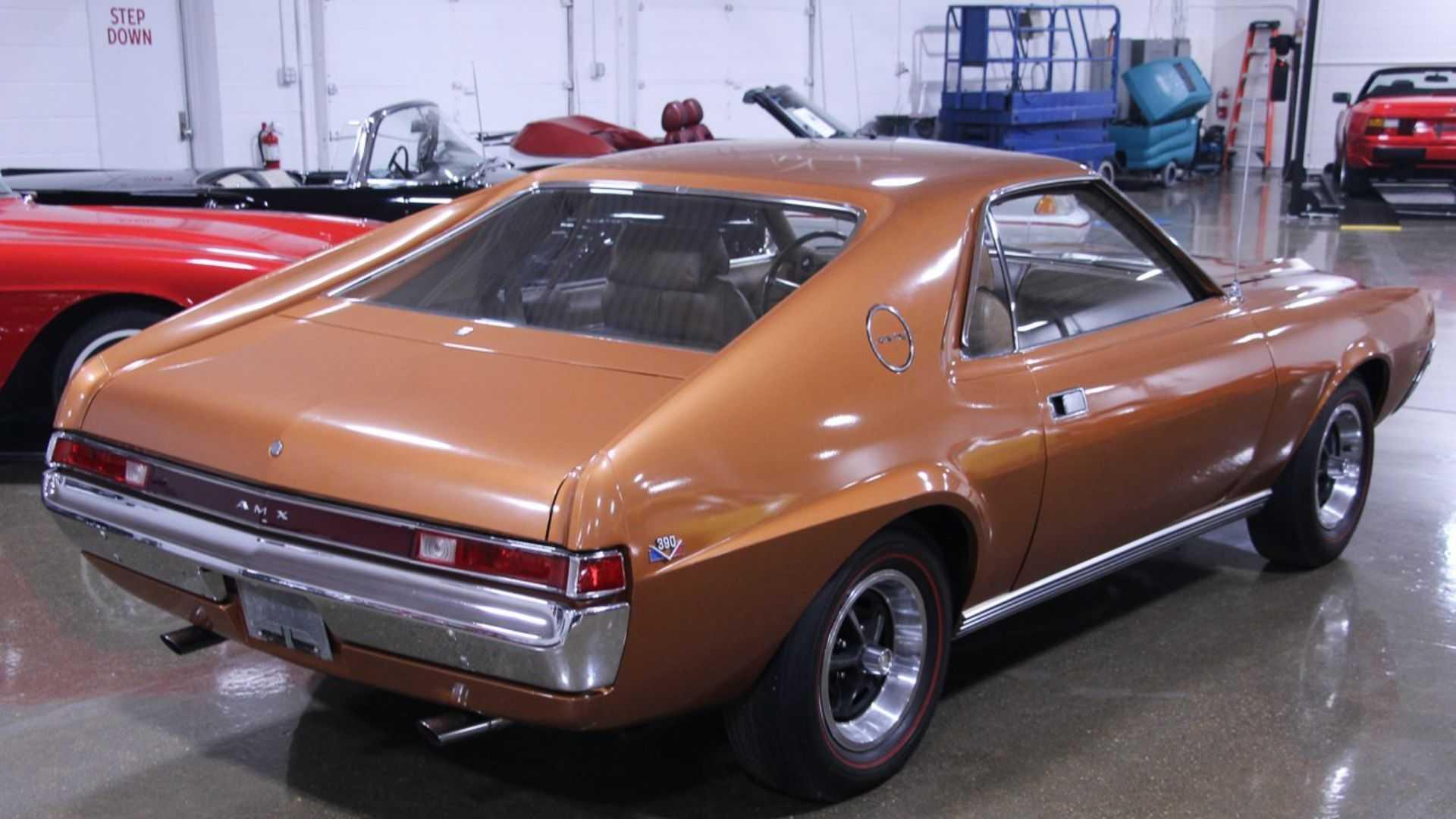 """[""""The 1969 AMC AMX Was Uniquely Glorious""""]"""