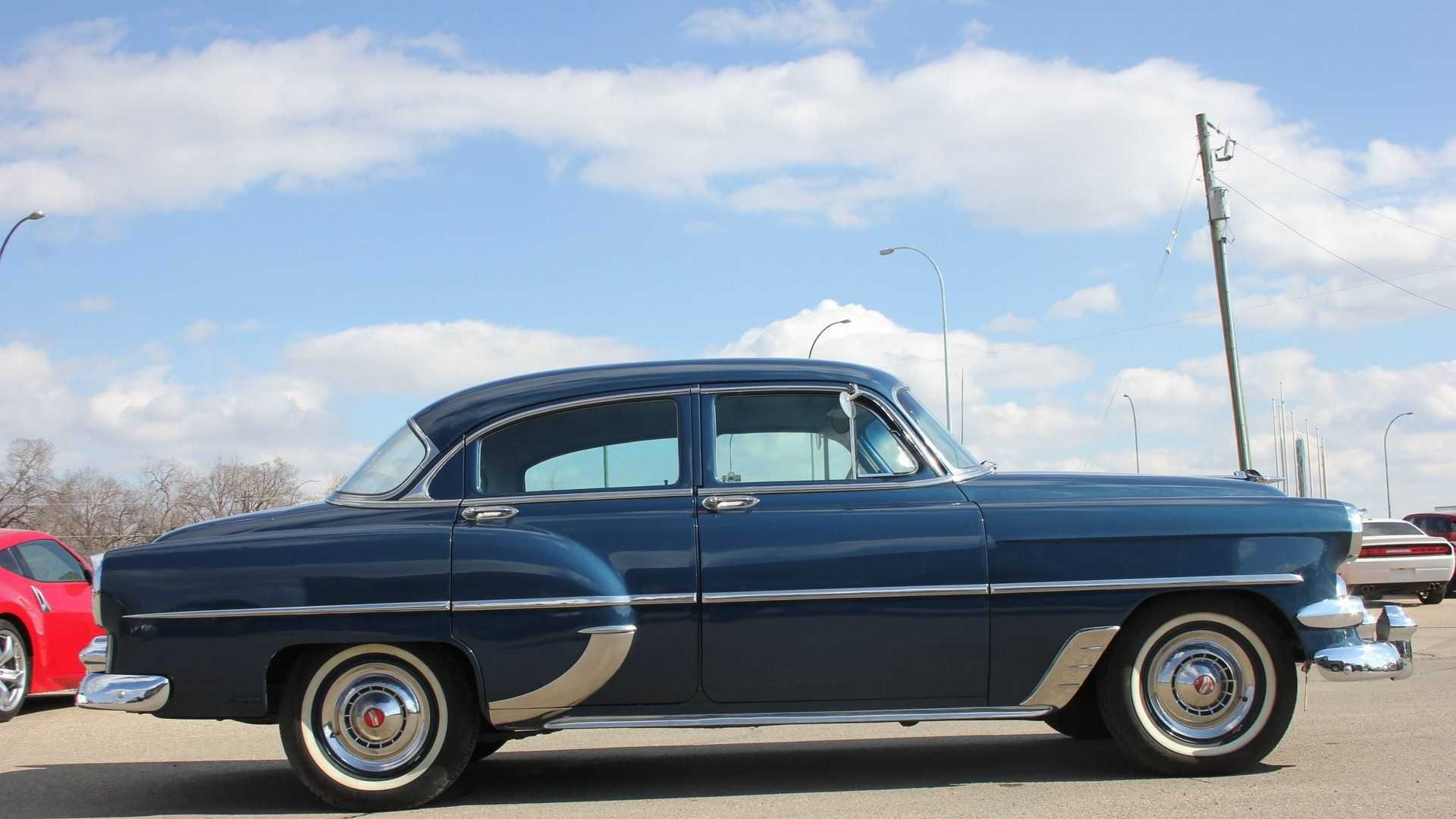"[""Smooth And Blue 1954 Chevrolet 210 Ready For New Owner""]"