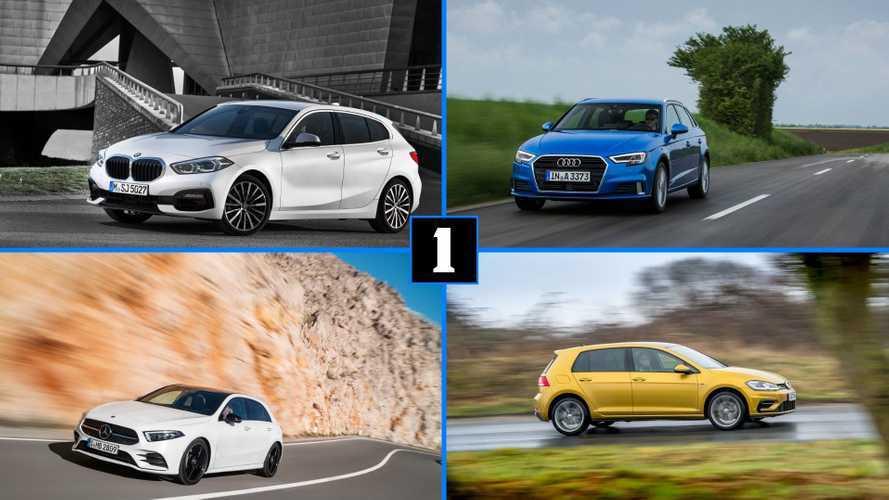 BMW 1 Serisi'nin rekabet edeceği 15 kompakt hatch