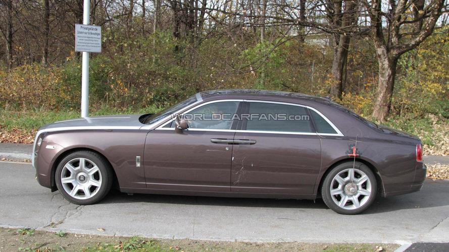 2011 Rolls-Royce Ghost EWB spied