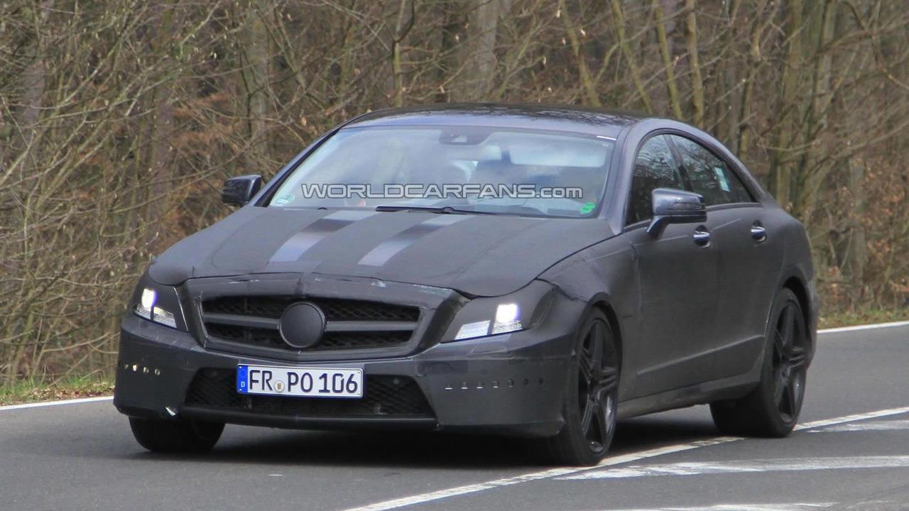 2012 Mercedes CLS 63 AMG prototype spy photo 14.04.2010