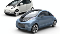 Mitsubishi i Miev Prototype and i Miev Sport Air concept