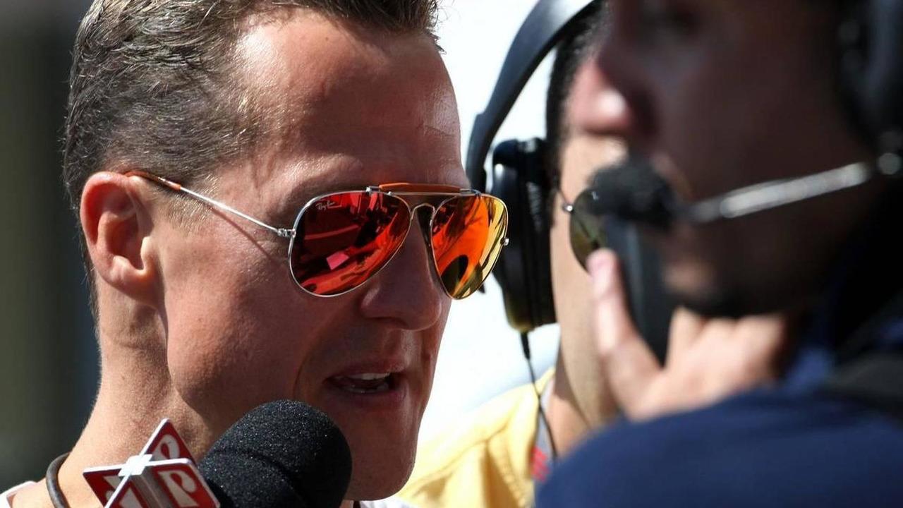Michael Schumacher (GER), Mercedes GP - Formula 1 World Championship, Rd 18, Brazilian Grand Prix, 07.11.2010 Sao Paulo, Brazil