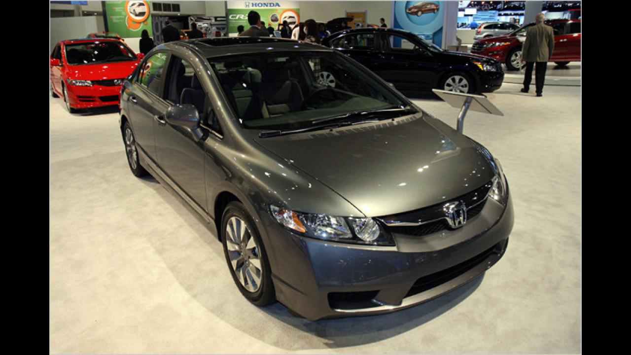 Platz 6: Honda Civic