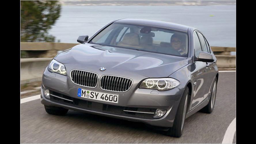 Gelber Engel 2011: BMW 5er zum Lieblingsauto gekürt