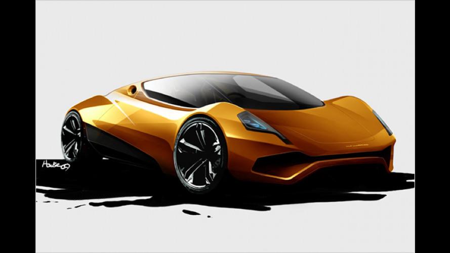 P1-E: Noch ein Strom-Sportwagen als Zukunfts-Ankündigung
