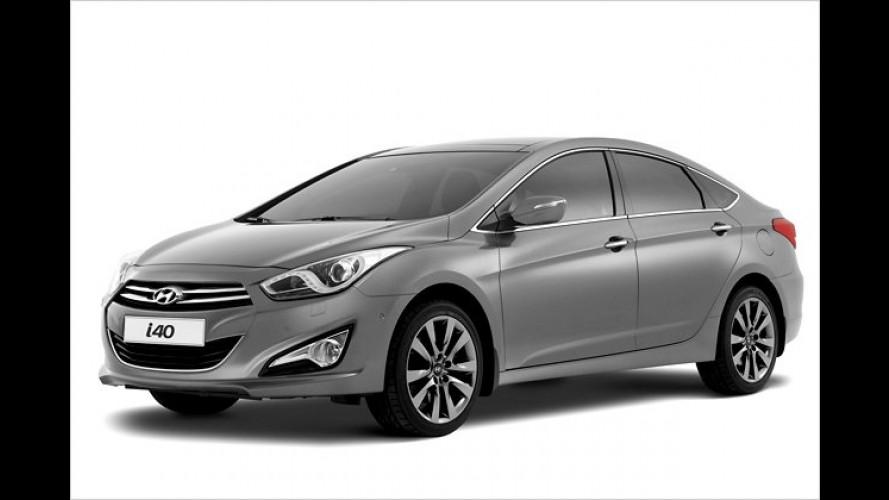 Hyundai i40: Jetzt ist auch die Limousine da