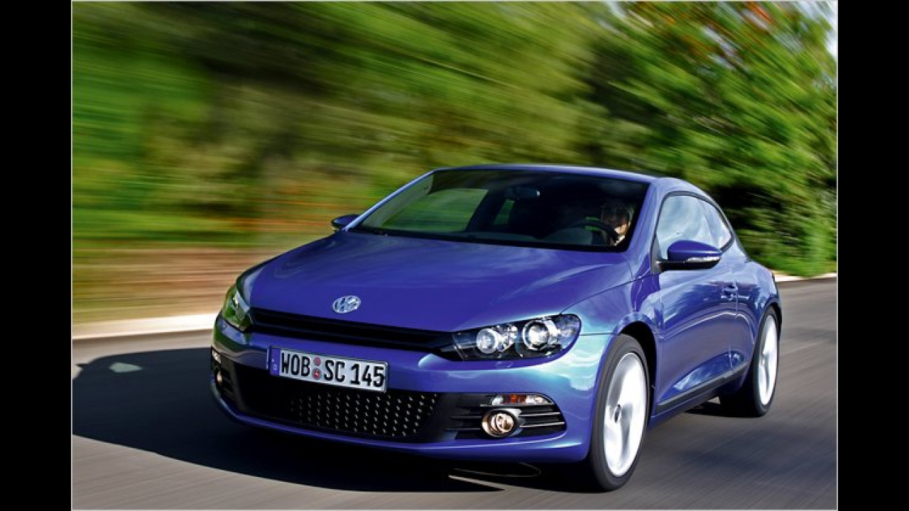 VW Scirocco 2.0 TDI BlueMotion Technology