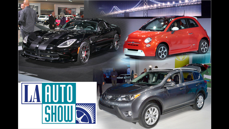 LA Auto Show 2012: Neues aus aller Welt