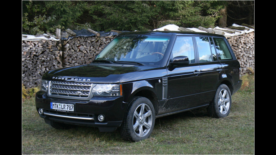 Power-Koloss: Range Rover V8 Supercharged im Test