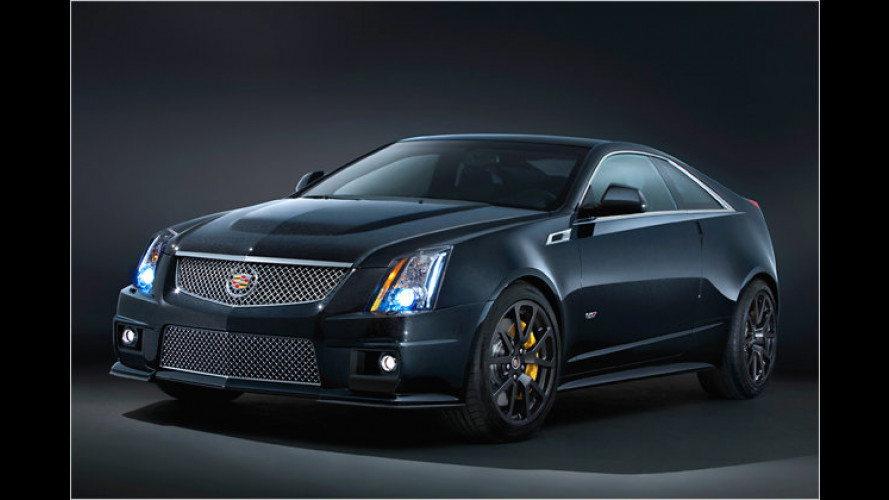 Schwarzer Ami: Cadillac CTS-V Black Diamond Edition