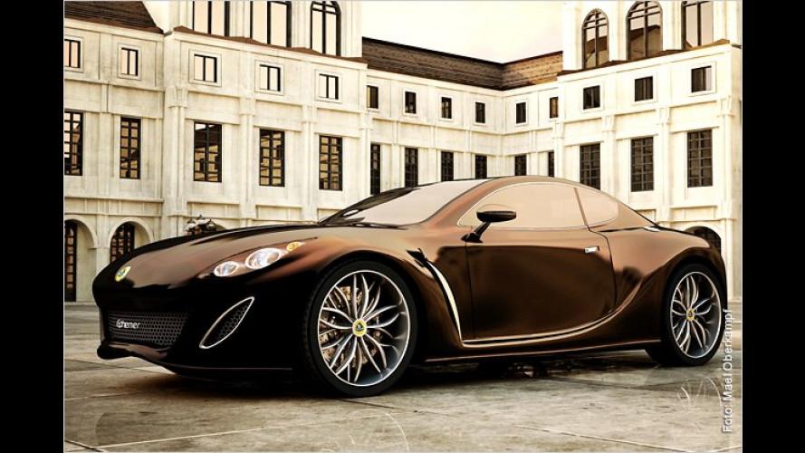 Ephemer: Schweizer Sportwagen-Studie auf Lotus-Basis