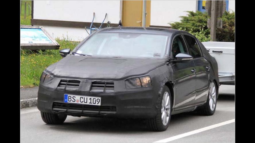 Erwischt: VW feilt am neuen Passat