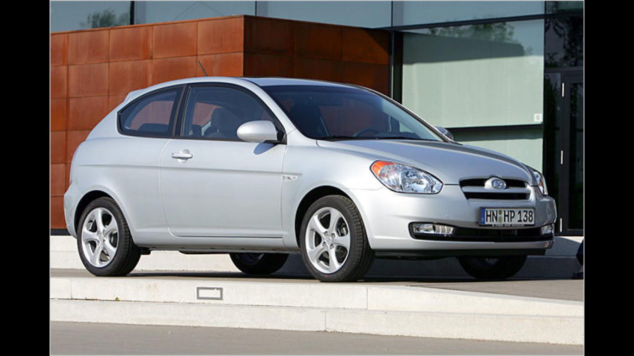 Hyundai Accent 1.4 GL 3-türig