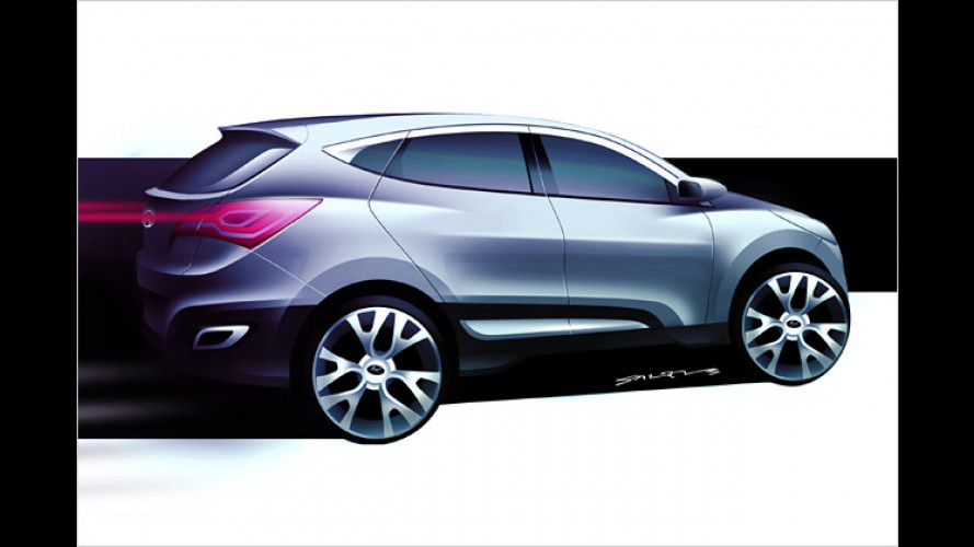 Premiere: Hyundai zeigt in Genf Studie des neuen Tucson