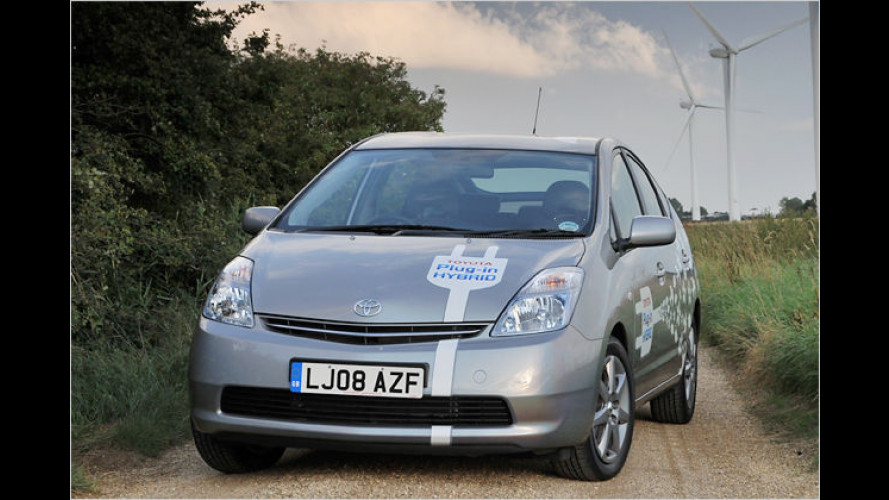Toyota Prius Plug-In Hybrid: Praxisversuch in England