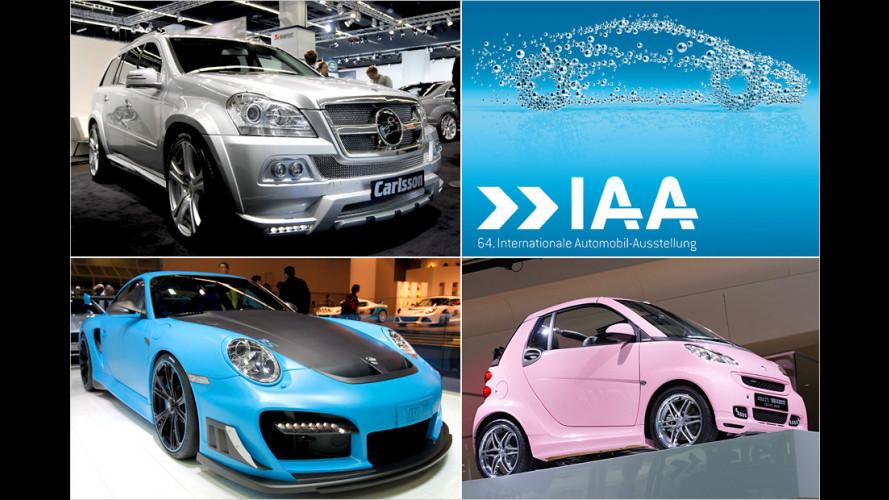 Auch die Tuner lassen sich auf der IAA 2011 nicht lumpen