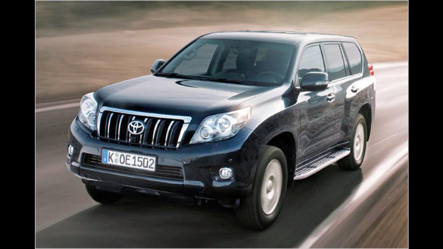 Unendliche Geschichte: Neuer Toyota Land Cruiser im Test