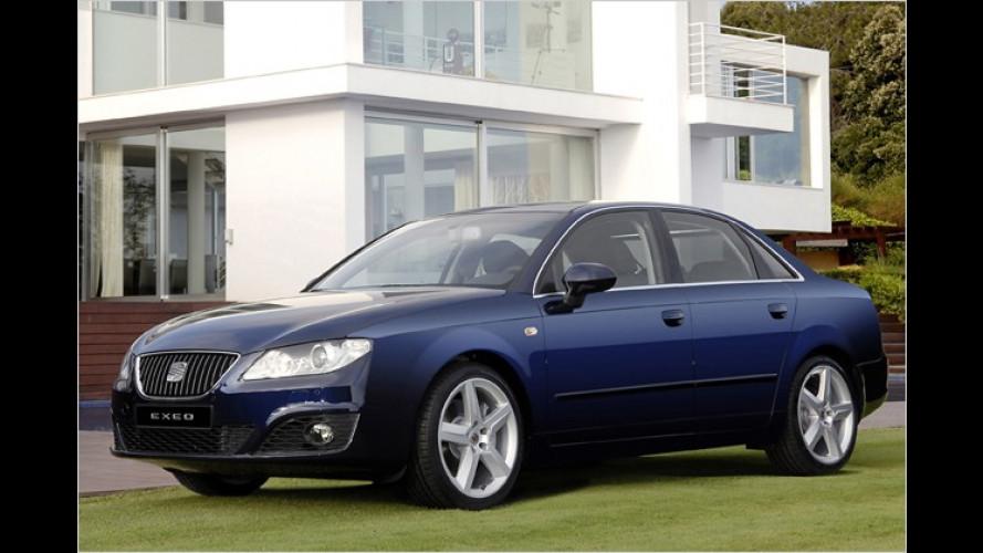 Seat Exeo: Mittelklasse-Limousine auf alter Audi-A4-Basis