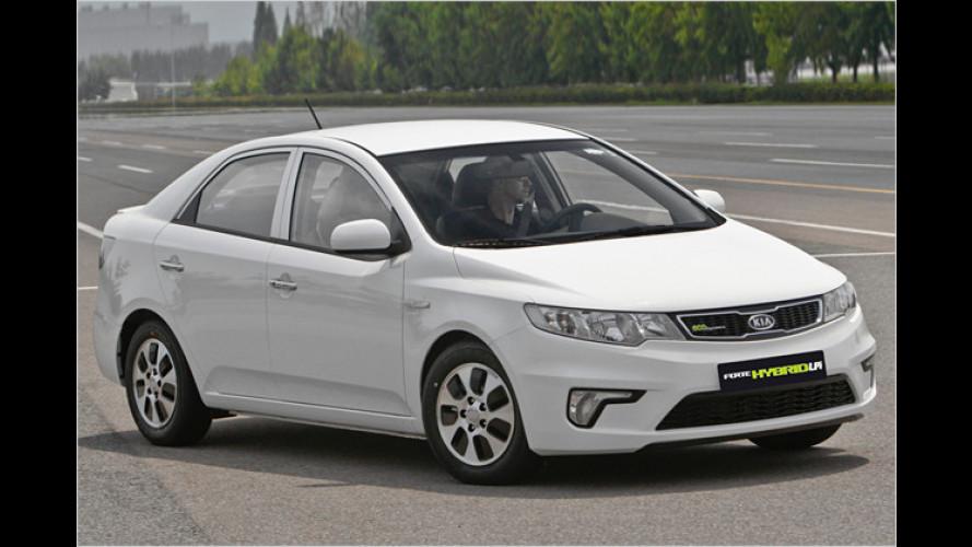 Premiere in Korea: Kia bringt Flüssiggas-Hybrid