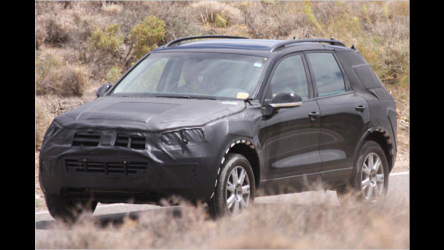 VW Touareg: Nachfolger bei heißen Tests erwischt