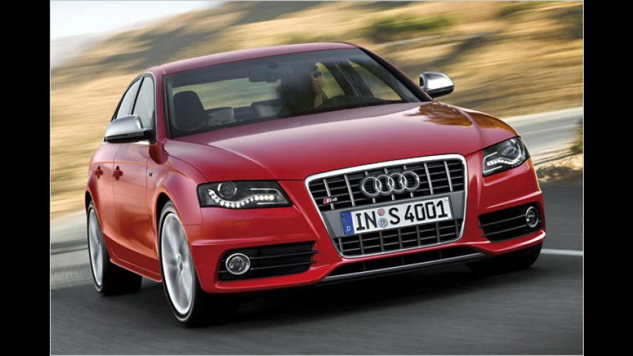 Audi zeigt neuen S4 und S4 Avant (2008) mit Kompressor-Motor
