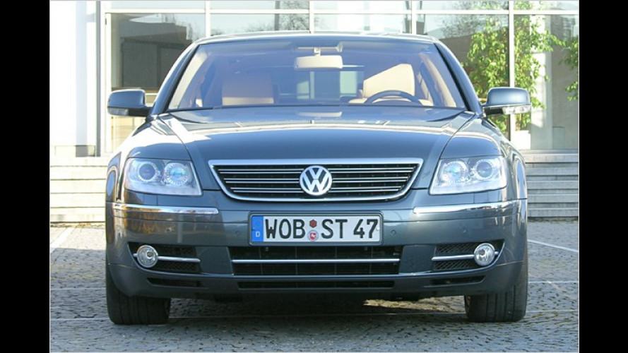 VW Phaeton: Komfortable Luxuslimousine mit vielen Muskeln