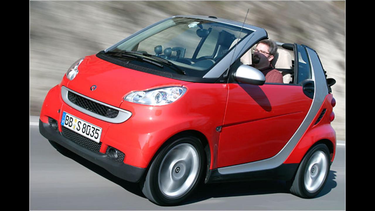 Smart fortwo 1.0 cabrio pure