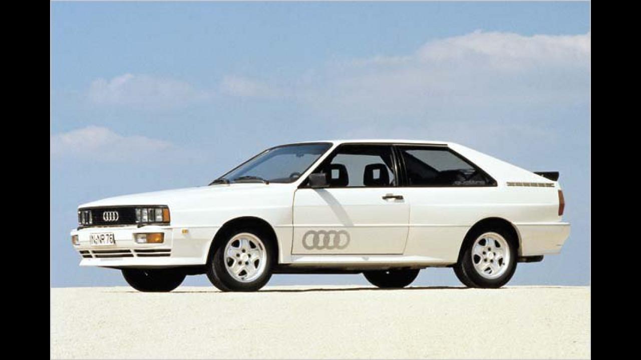 Platz 12: Audi quattro (12,9 Prozent)