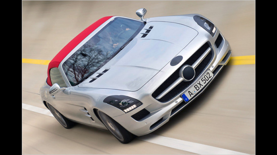 Mercedes SLS AMG Roadster: Gib Stoff