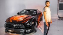 Ford Mustang Comic Strip