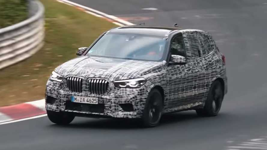 BMW X5 M Goes Back Тo Nurburgring For A New Test Session