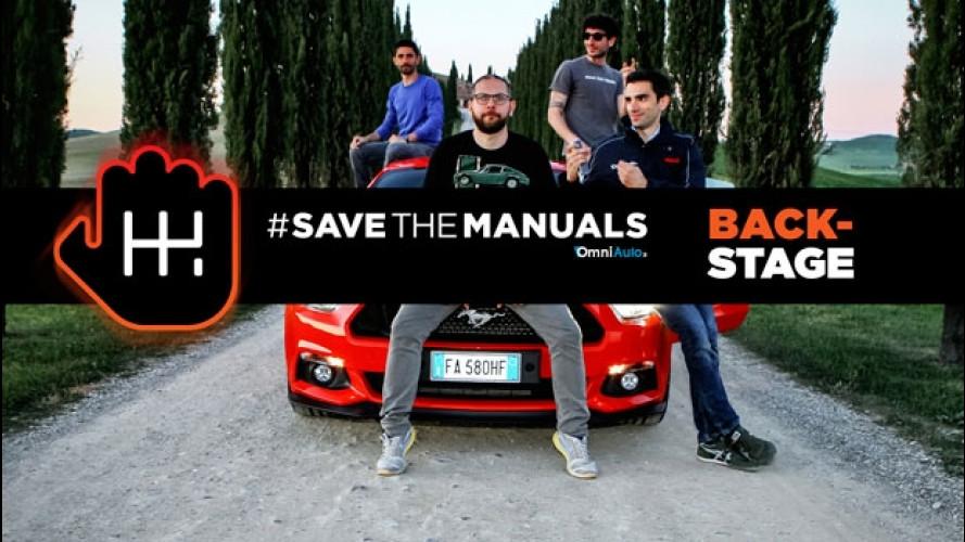 #SaveTheManuals, il backstage [VIDEO]